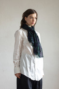 Non-Stretch Wool Gauze Scarf