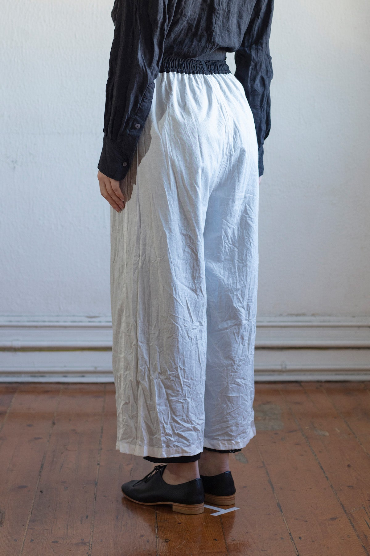 Reversible Wide Leg Pants