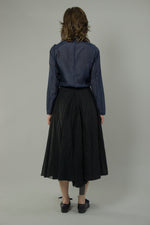 Load image into Gallery viewer, Cotton Organdy Bustle Skirt