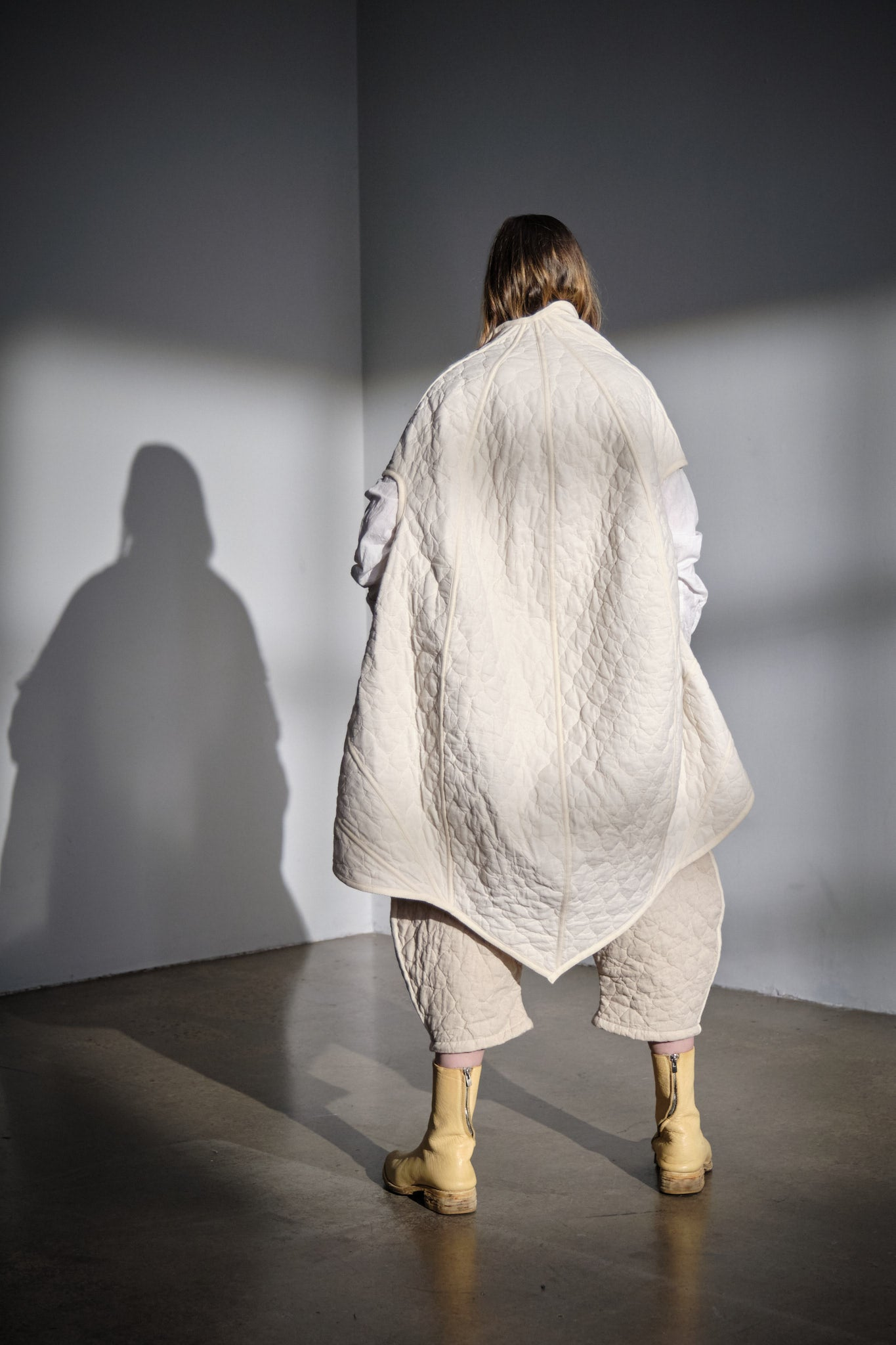 Cocoon Quilted Cape