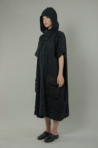 Patchwork Hoodie Dress