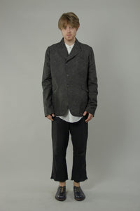 Peaked Lapel Collar Jacket