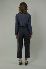 Load image into Gallery viewer, Pleated Hem Straight Pants