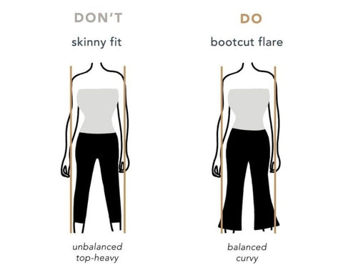 Do's and Don'ts for hourglass body shape, what you should do for hourglass body shape,