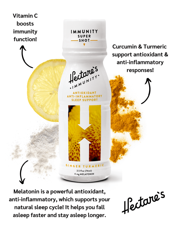 Ginger Turmeric Immunity Sleep Shot - Authentic Option