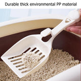 Durable Pet Dog Cat Plastic Cleaning Tool Puppy Kitten litter Scoop Cozy Sand Scoop Poop Shovel Product For Pets Cat Supplies - Authentic Option