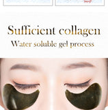 Black Tea Collagen Crystal Eye Patches 60pcs Natural Remover Dark Circles Sleep Mask Bags Under The Eye Mask
