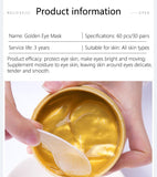 Collagen peptide Mask for firming Eye bag wrinkles, Look Young - [tags] - Authentic Option