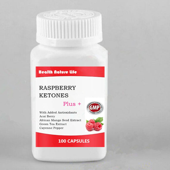 Raspberry Ketones Plus,Advanced Antioxidant & Green Tea Extract for Weight Loss,Appetite Suppression,Resveratrol,Vegan,100 count