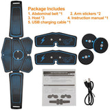 Highly Effective Abdominal Muscle Stimulator EMS Trainer for Weight Loss and Fitness - works  weight loss  unisex  trainer  toner  stimulator  sports  SLIMMING BELT  slimming  slim  rechargeable  look slim  kit  highly effective  fitness equipment  fitness  exercise  electrostimulator  current  Abs - Authentic Option