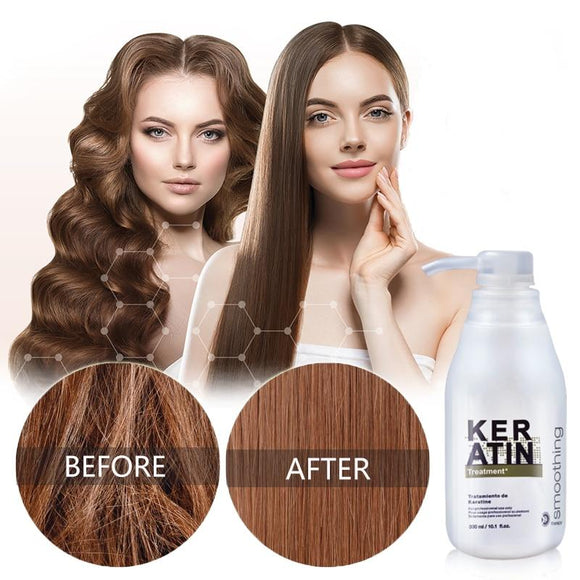Keratin Hair Repair Treatment - Authentic Option