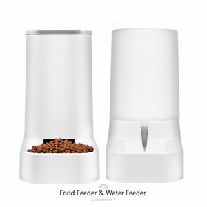 3.8L Large Capacity Pet Dog Cat Automatic Feeder Detachable Dog Cat Water Dispenser Food Feeding Device For Cat Dog Pet Supplies - Authentic Option