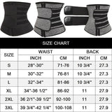 Waist Slimmer belt for Women. Tones body - Weight loss  waist  tone  smart  slimming  fitness  belt - Authentic Option