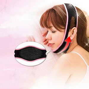 1PC Black Face Lift Up Belt Slimming Face Shaper Relaxation Bandage Sleeping Massage Slimming Products