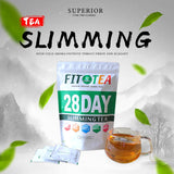 AbbasHealth Chinese 28 Days Fast Slimming Weight Loss Green Product Belly In Disposable Tea Bags Natural Health Tea Hot