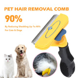 Newest Comfortable Pet Hair Removal Comb Cats Dog Grooming Comb Puppy Kitten Hair Shedding Trimmer Combs Pets Grooming Tools