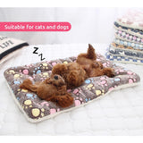 Dog Bed Pet Cushion Blanket Soft Fleece Cat Cushion Puppy Chihuahua Sofa Mat Pad For Small Large Dogs - Authentic Option