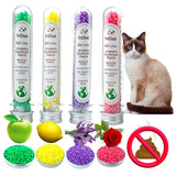 4 Aromatic Cat Litter Deodorant Beads Odor Activated Carbon Absorbs Pet Removaling Excrement Stink Deodorizing Cleaning Supplies - Authentic Option