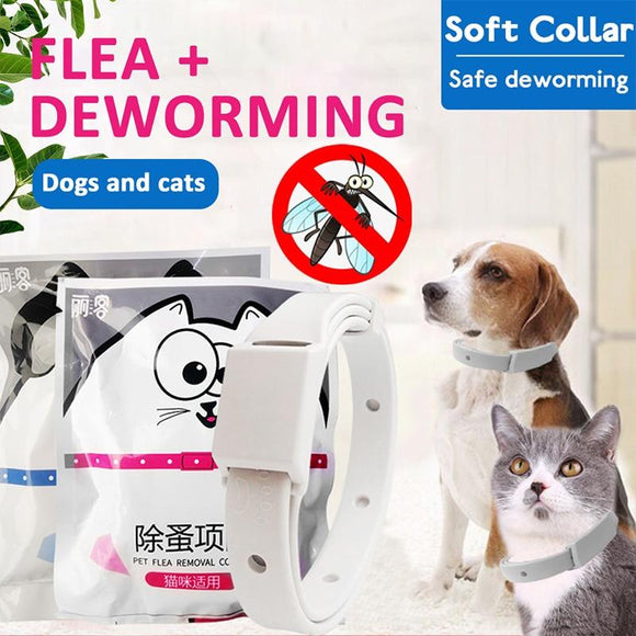 Adjustable Mosquito Removes Flea And Tick Collar Dogs Cats Up To 8 Month Flea Tick Collar Anti-mosquito And Insect Repellent - Authentic Option