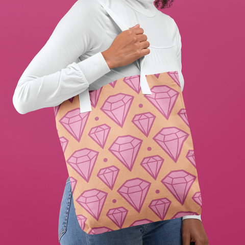 BGBC Diamonds Tote Bag