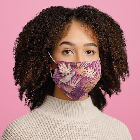 BGBC Spring Foliage Face Mask