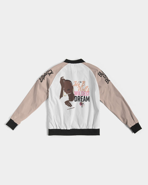 Her Wildest Dreams Ida B. Wells Women's Bomber Jacket