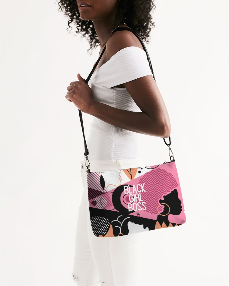 Ethnic #BlackGirlBoss Daily Zip Pouch