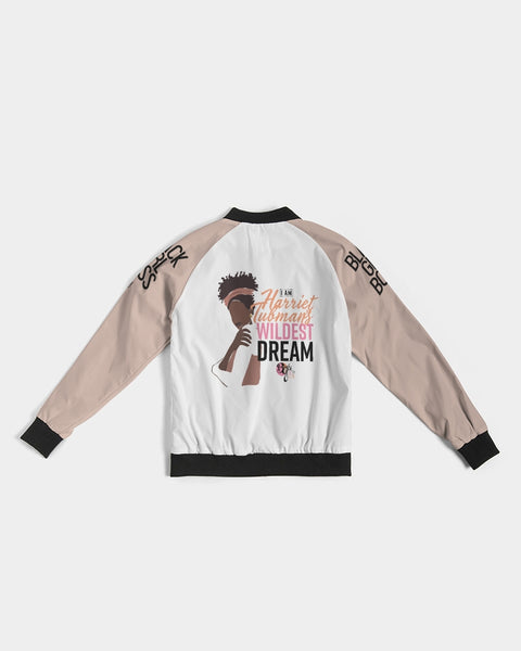 Her Wildest Dreams Harriet Tubman Women's Bomber Jacket