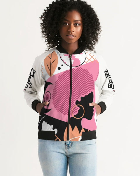 Ethnic #BlackGirlBoss Women's Bomber Jacket