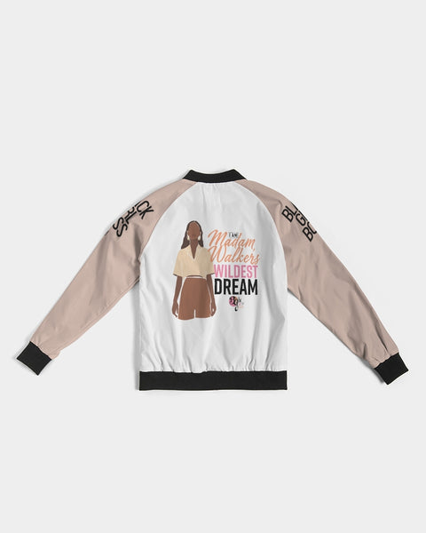 Her Wildest Dreams Madam Walker Women's Bomber Jacket