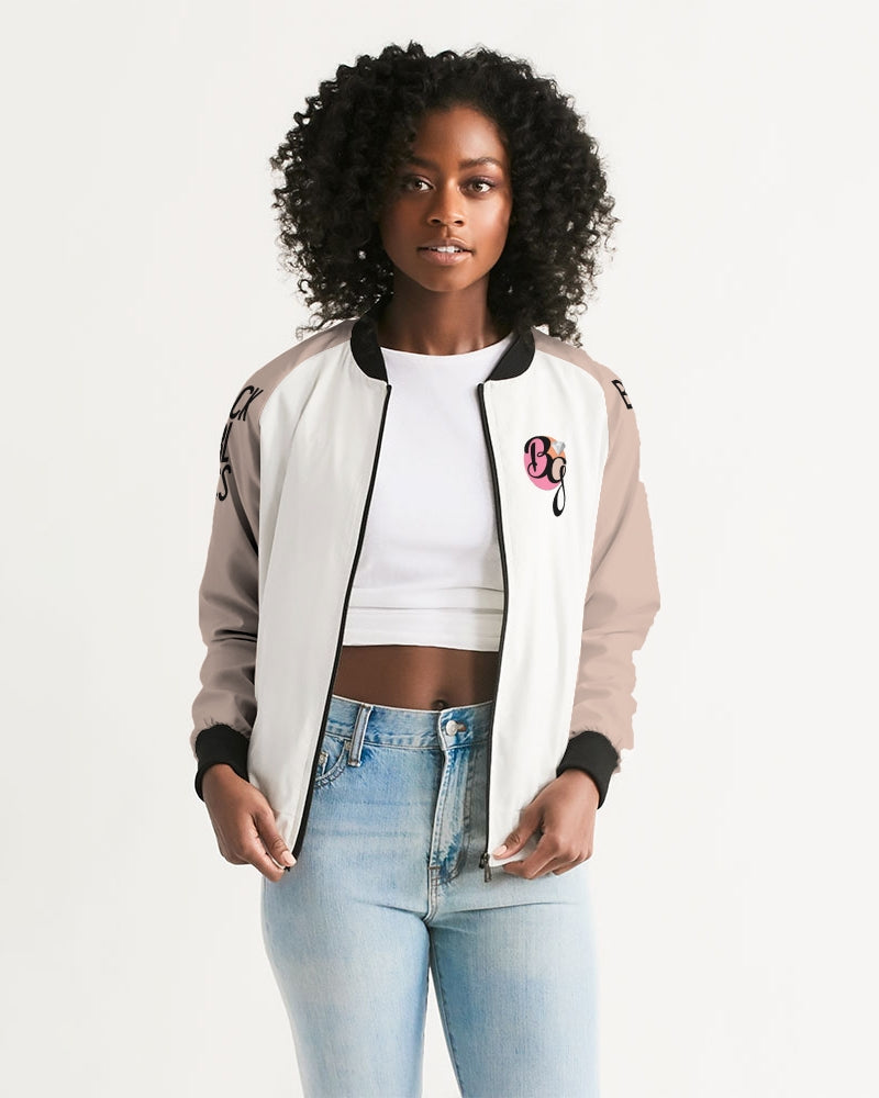 Her Wildest Dreams Maya Angelou Women's Bomber Jacket