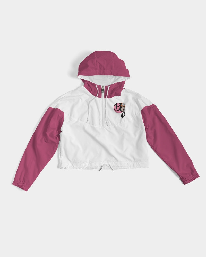 BGBC Basic Logo Women's Cropped Windbreaker