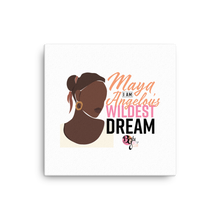 Load image into Gallery viewer, Her Wildest Dreams Maya Angelou Mounted Canvas