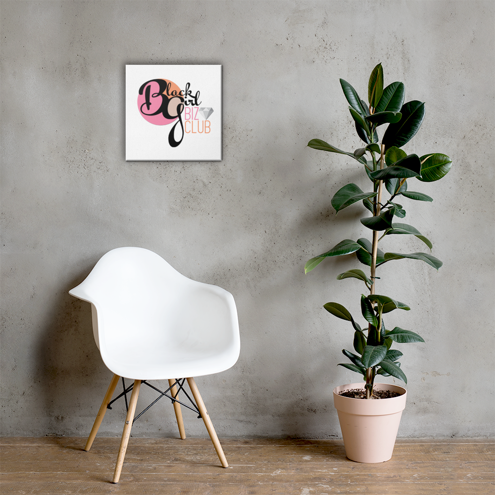 Black Girl Biz Club™ Canvas Wall Art