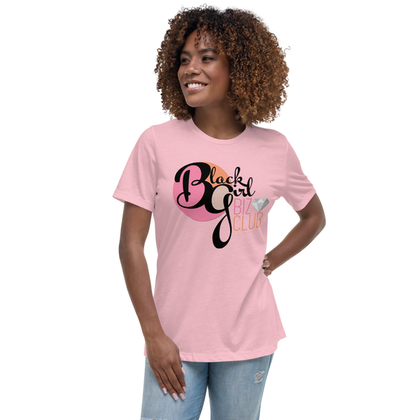 Black Girl Biz Club™ Women's Relaxed Light Style T-Shirt