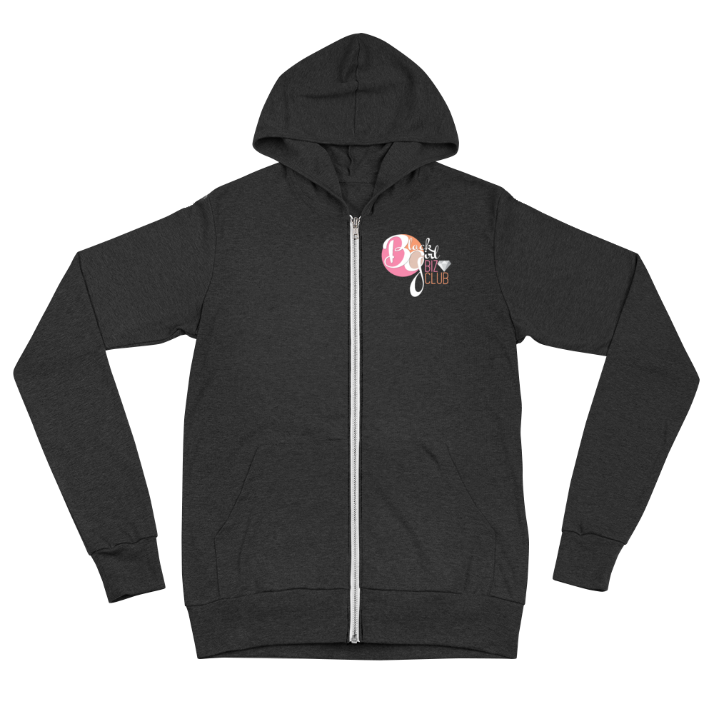 Black Girl Biz Club™ Comfy Zip-Up Hoodie