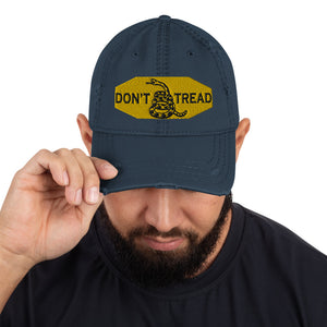 DON'T TREAD Distressed Dad Hat by Ruck & Rotor