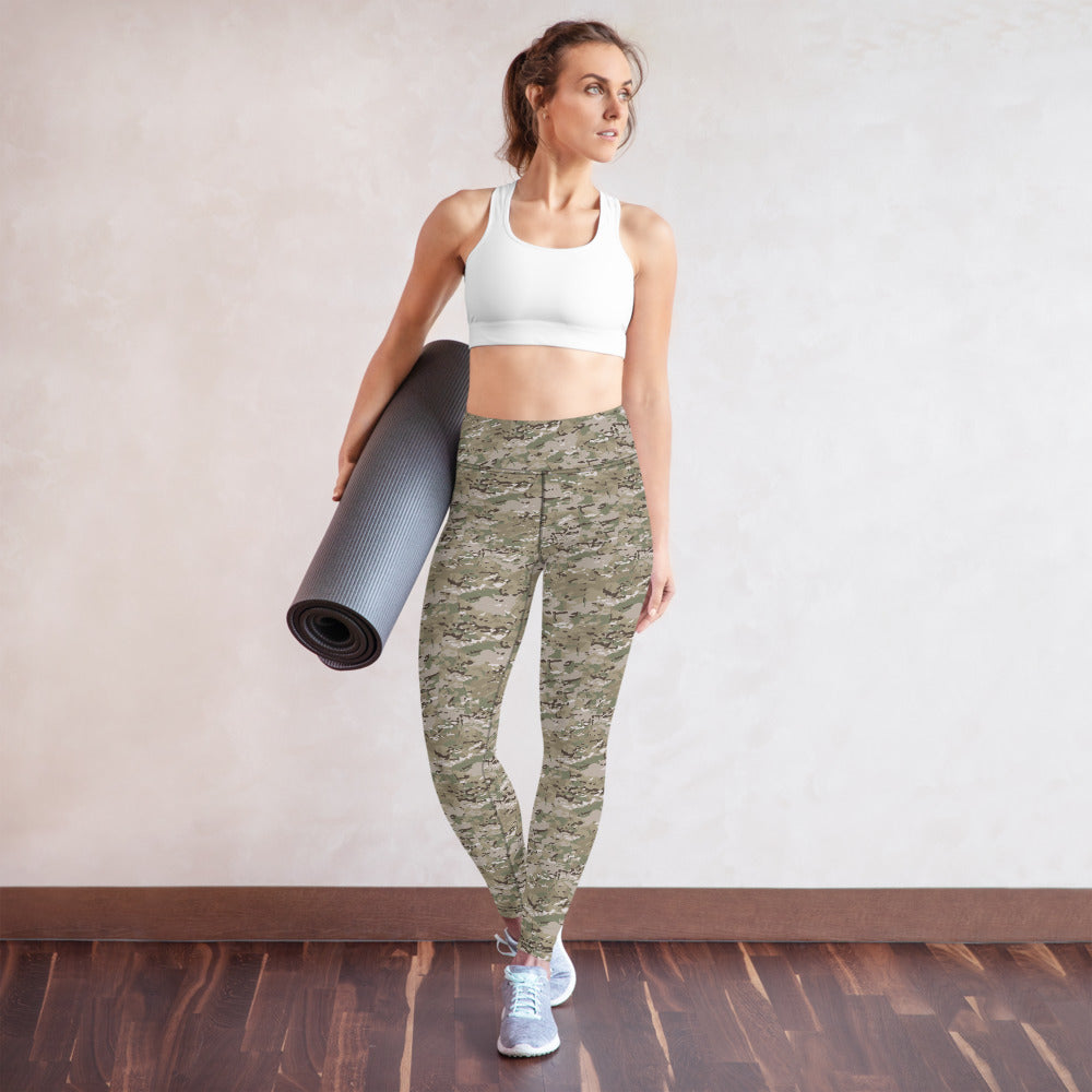 Women's Modern Camo Yoga Leggings by Ruck & Rotor