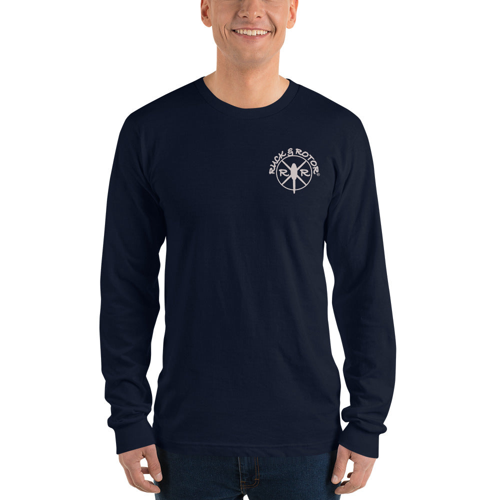 MH-47 Chinook Reaper Moon Long sleeve t-shirt by Ruck & Rotor