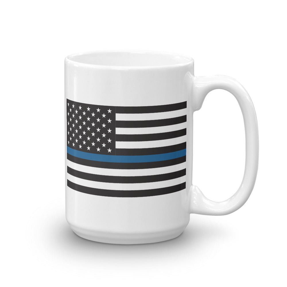 """BLUE LINE"" Ceramic Mug by Ruck & Rotor"
