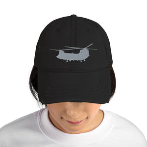 CH-47 Chinook Distressed Black Hat by Ruck & Rotor