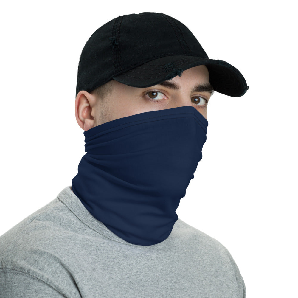 Navy Blue Neck Gaiter Face Mask by Ruck & Rotor