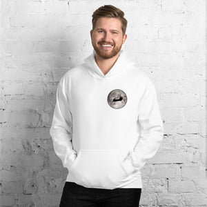 MH-47 Chinook Full Moon Unisex Hoodie by Ruck & Rotor