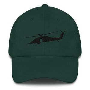MH-60 Black Embroidered hat by Ruck & Rotor