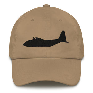 C-130 Black Embroidered Airplane hat by Ruck & Rotor