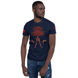 """Bar Night"" Short-Sleeve Unisex T-Shirt by Ruck & Rotor"