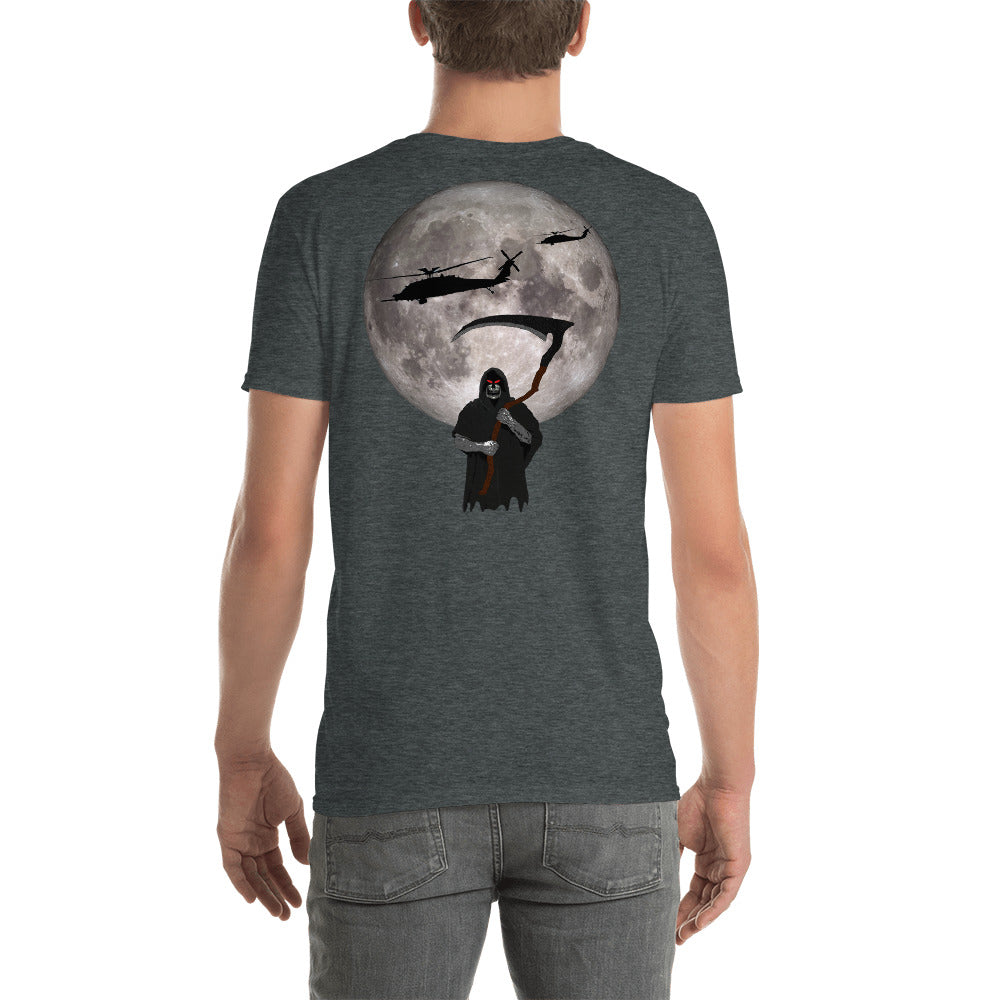 MH-60 Black Hawk Reaper Moon Short-Sleeve Unisex T-Shirt
