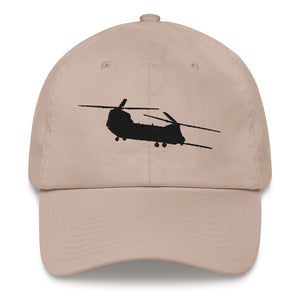 MH-47 Black Embroidered hat by Ruck & Rotor