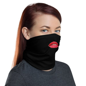 """Lips"" Neck Gaiter Face Mask by Ruck & Rotor"