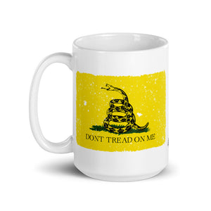 MOLON LABE - Don't Tread on Me Ceramic Mug by Ruck & Rotor